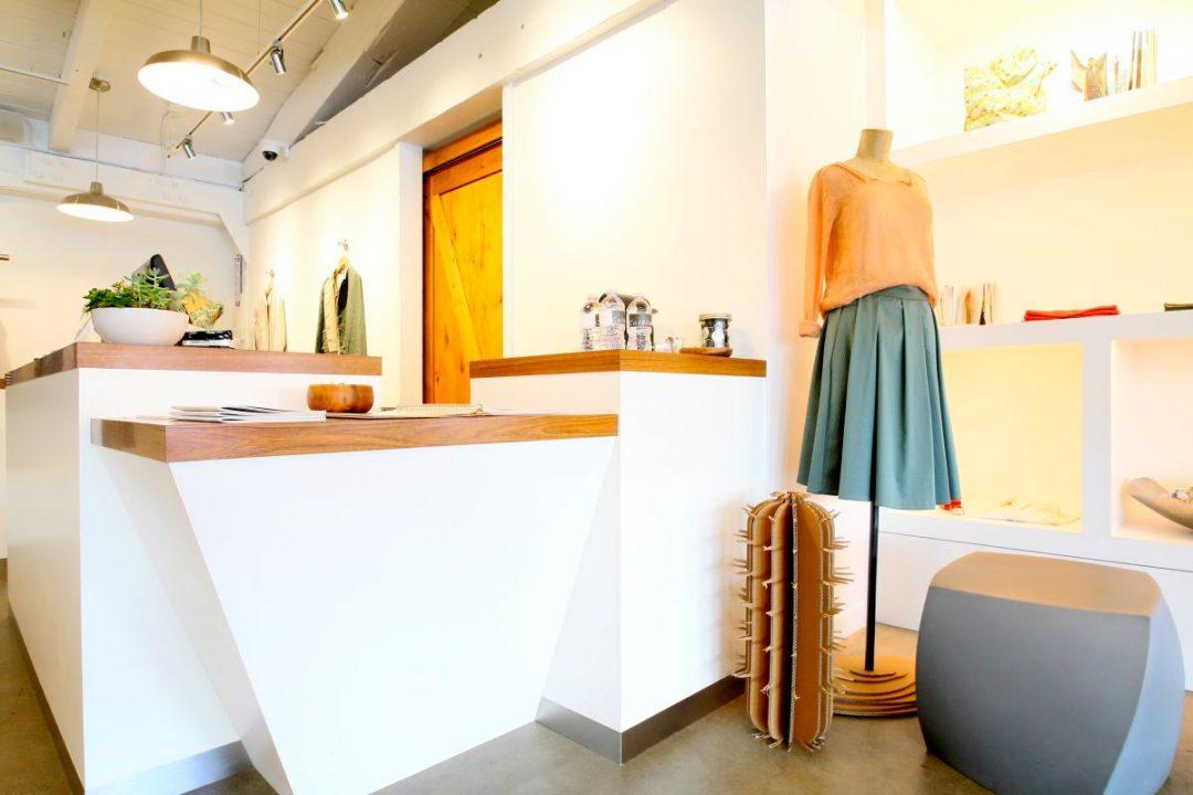 Retail displays at Cotelac, Palo Alto