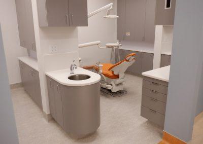 Dental office millwork