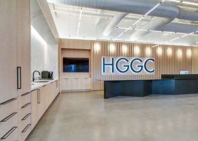 Commercial millwork at HGGC