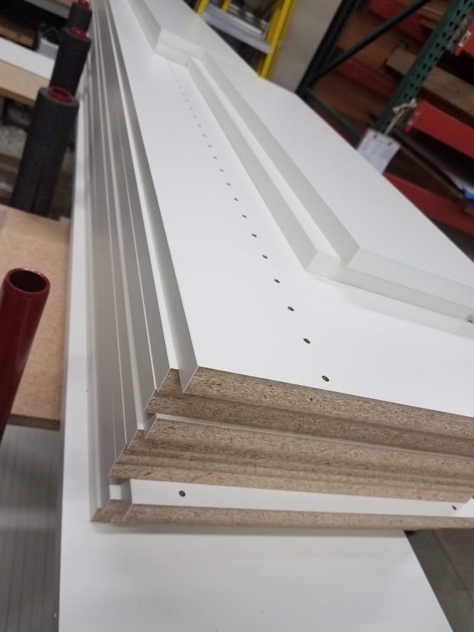 Panel processing: closet & cabinet components