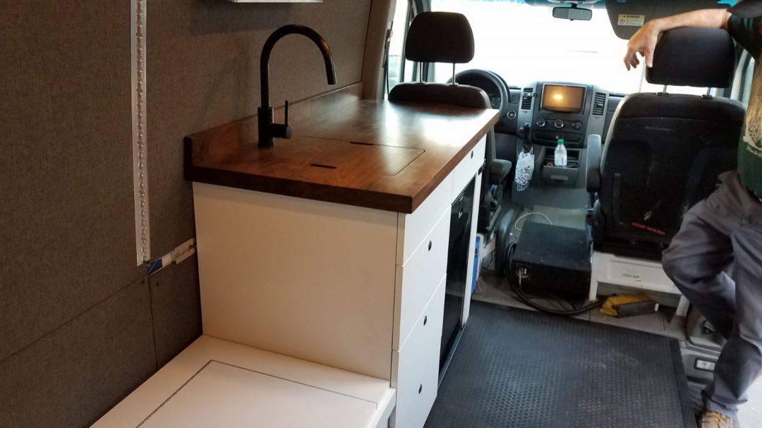 Van cabinets