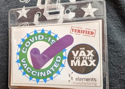 We are vaccinated!
