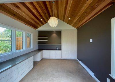 Yoga studio cabinets