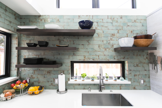 green builders kitchen