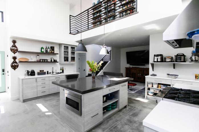 Santa Cruz residential kitchen