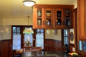 Reclaimed redwood kitchen